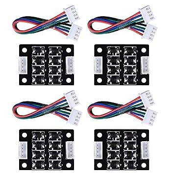 TOOGOO 4 Piezas TL-Nivelador Módulo Adicional V1.0 para Impresora ...