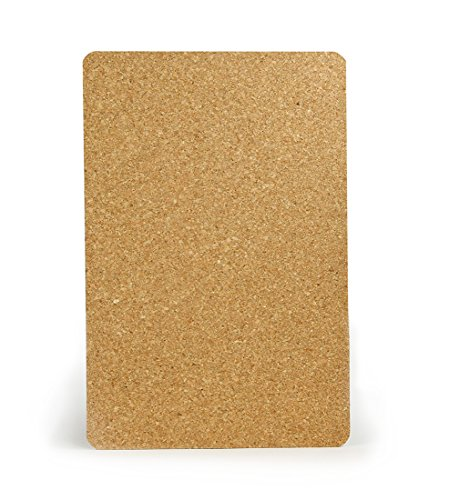Hygloss Products Cork Sheets - 3 mm Thick Cork Sheets - 11.25 x 17.25 Inches, 2 Sheets - Cork Lining