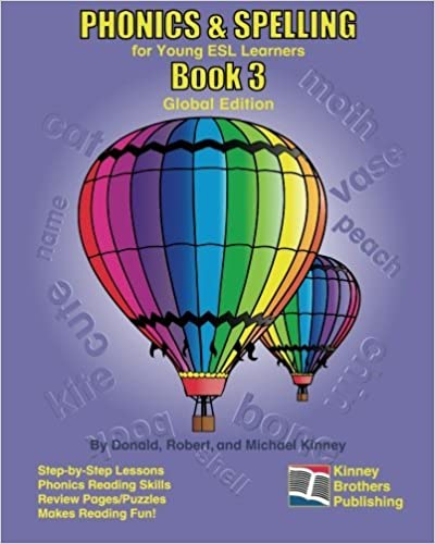 Book PHONICS & SPELLING, Book 3: Global Edition by Donald Kinney (2010-12-15)