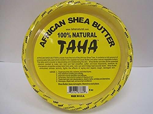 African Shea Butter Cream (100% Pure & Raw, Gold) 8 Oz