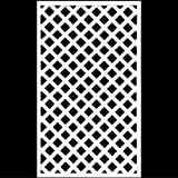 ホワイト格子ラティスフェンス 1500×900mm(木製) 目隠しフェンス DIY 園芸 ガーデニング 旭興進株式会社 JJ PROHOME