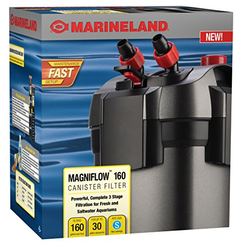 Filter Canister Tank (MarineLand Magniflow Canister Filter for Aquariums)