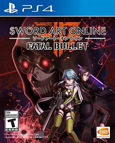 Amazon Com Sword Art Online Fatal Bullet Playstation 4 Bandai Namco Games Amer Video Games
