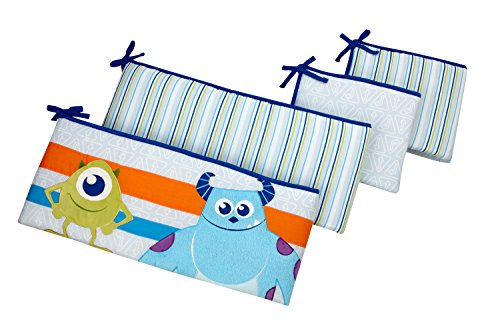 Disney Monsters at Play Traditional Padded Bumper, Multi-Colored