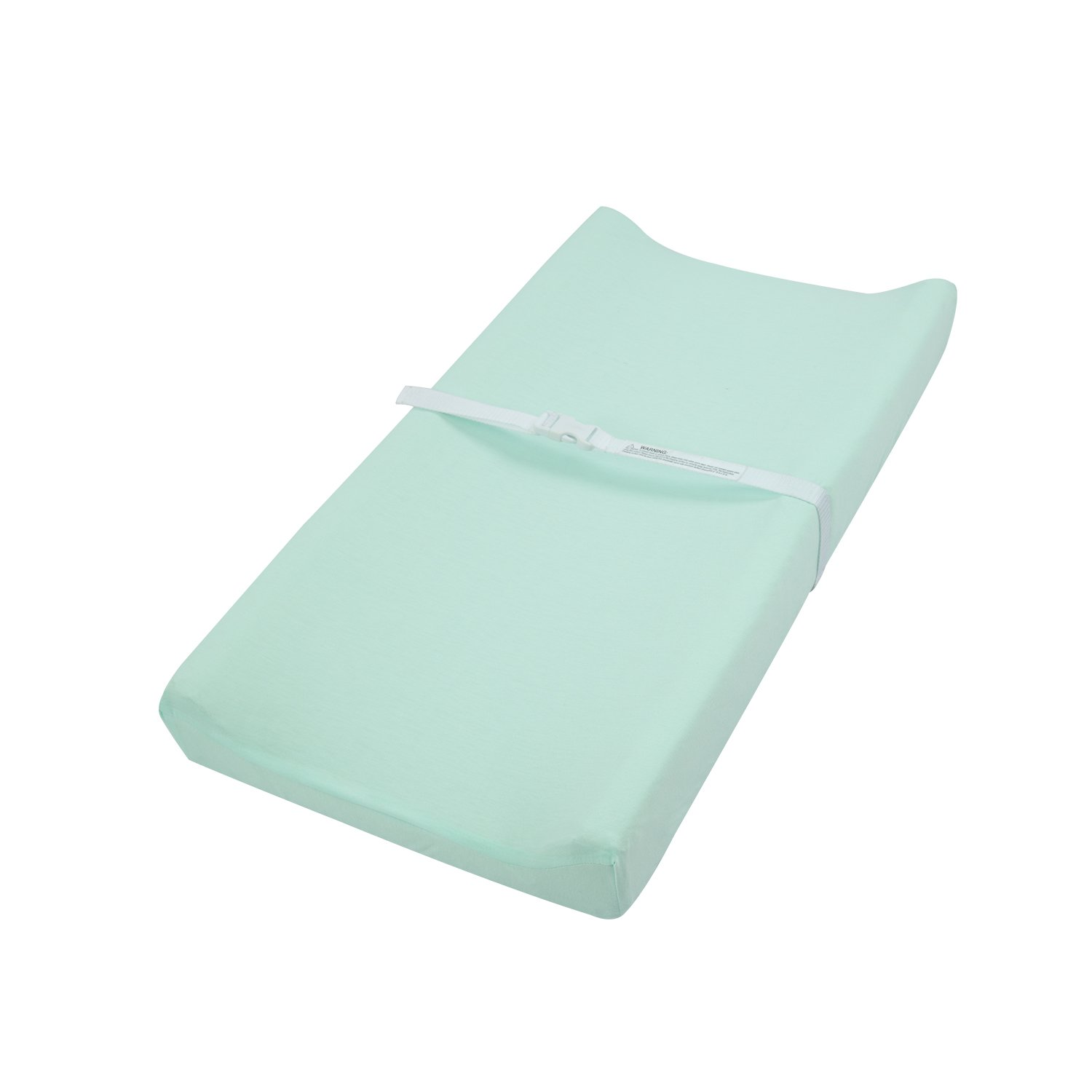 """TILLYOU Jersey Knit Diaper Changing Pad Cover-Cradle Sheet Unisex Change Table Sheets for Baby Girls and Boys-Fit 32""""/34'' x 16"""" Pad-Ultra Soft Cozy -Lt Green"""