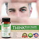 Extra Strength Natural Brain Supplement - Nootropic Brain Booster for Focus, Clarity, Memory, Cognitive Function, Sharp Mind, Elevates Mood – Expertly Formulated for Peak Performance & Balanced Energy - 51O0xJdkT4L - Extra Strength Natural Brain Supplement – Nootropic Brain Booster for Focus, Clarity, Memory, Cognitive Function, Sharp Mind, Elevates Mood – Expertly Formulated for Peak Performance & Balanced Energy