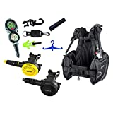 Mares Scuba Diving Computer, Regulator Set, Octo Complete Basic Package w/ BCD