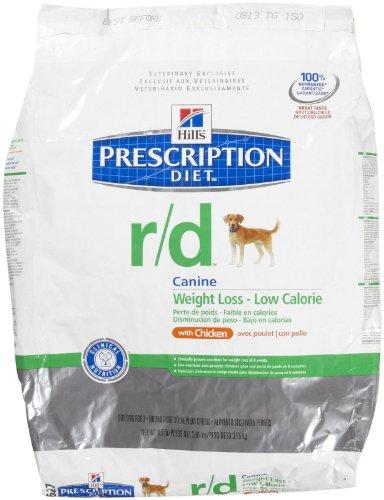 Hill'S Prescription Diet R/D Weight Loss - Low Calorie Dry Dog Food W/ Chicken 8.5 Pounds (Best Weight Loss Prescription)