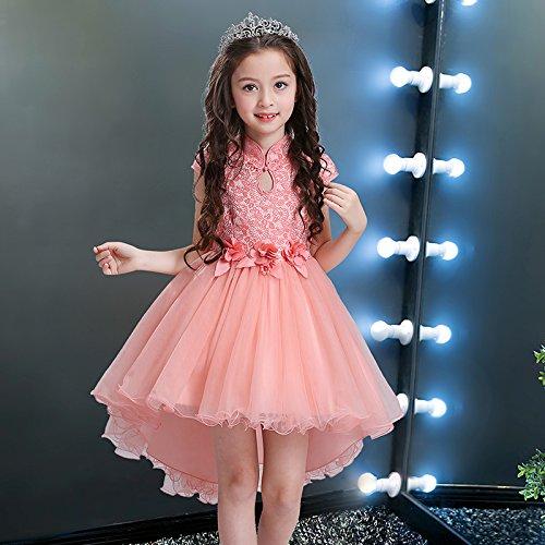 Verano Falda RONG Falda Visten Las XIU De Verano Princesa De Pink Niñas Cheongsam Vestido 7w8RnHq1x