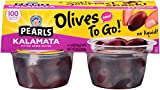 Pearls Olives To Go! Pitted Kalamata Olives, 6 Packages of (4) 1.4 Ounce Servings Review