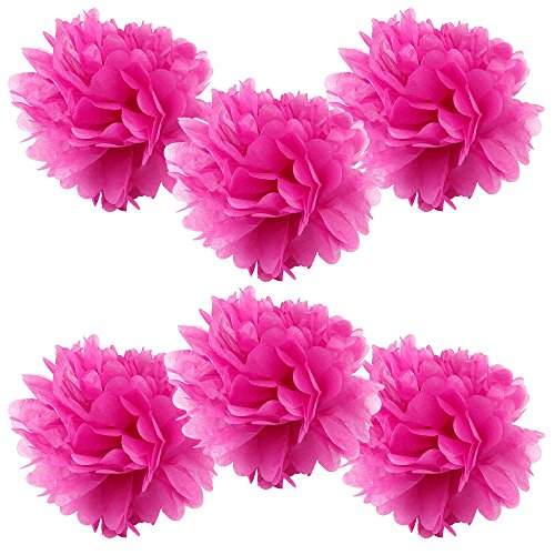 hot pink party decorations - 8