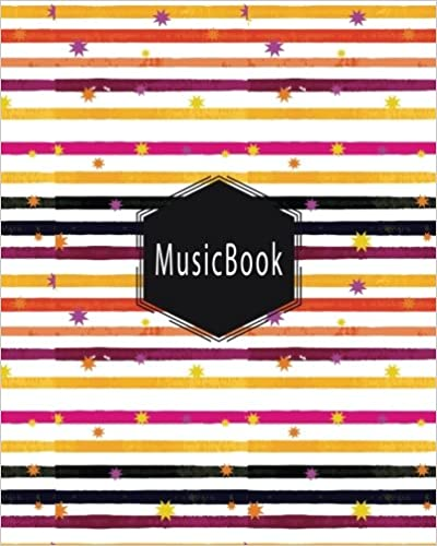 Descargar PDF Music Book: Blank Music Sheet / Music Manuscript Paper