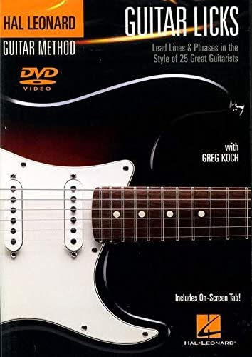 Greg Koch: Guitar Licks – Lead Lines And Phrases in the Style Of ...
