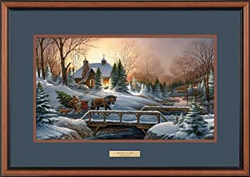 heading home by terry redlin encore framed print open edition