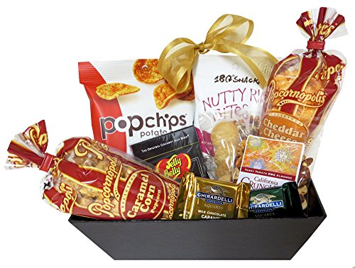 Great-Gifts-Baskets-Little-Treat-Popcorn-Cookies-Chocolate-Snacks
