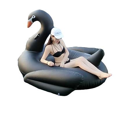 LIDAUTO Colchón de Aire Inflable Gigante Cisne Piscina ...