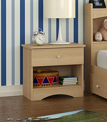 Alegria 5601 Night Stand from Nexera, Natural Maple