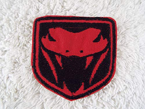Dodge VIPER Car Emblem Logo Embroidered Iron-on Patch