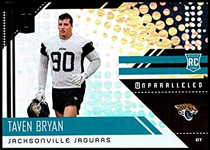 2018 Unparalleled NFL  289 Taven Bryan RC Rookie Jacksonville Jaguars Rookie  Panini Football Trading Card d8fe15712
