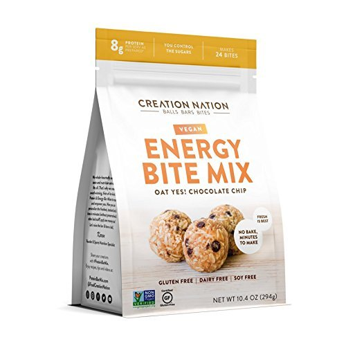 ENERGY BITE MIX By Creation Nation | No-Bake, Minutes to Make | DIY ENERGY BALLS & BITES | Makes 24