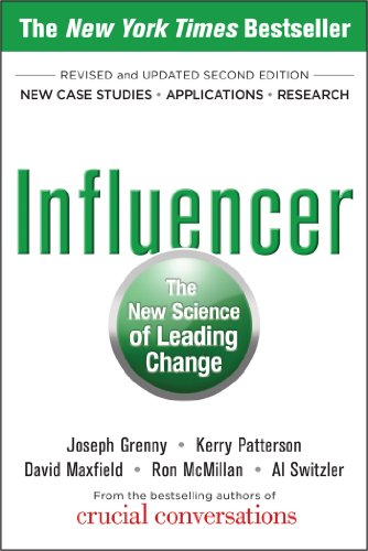 Influencer: The New Science of Leading Change, Second Edition (Best Way To Manage Employees)