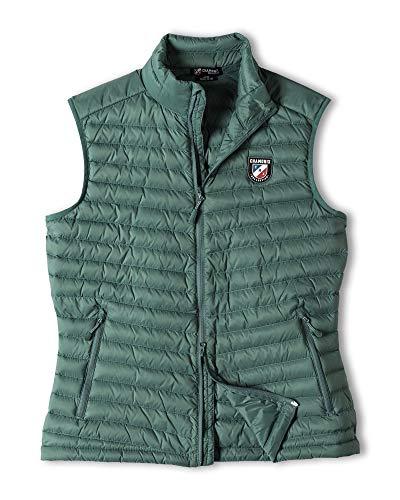 Chamonix Cailly Down Vest Silver Pine Womens Sz S