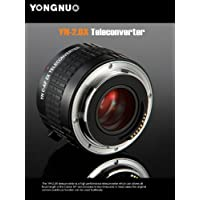 Yongnuo YN-2.0X PRO 2x Teleconverter Auto Focus Mount Lens for Canon EOS EF