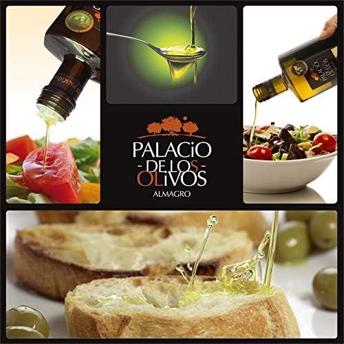 Palacio de Los Olivos, Aceite De Oliva Virgen Extra Picual Gourmet, Calidad Premium, Prensado en Frío, Recolección Temprana, Almagro – España, Botella ...