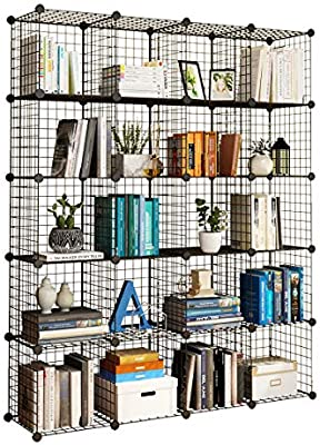Origami R5VBW2 Wheeled 4 Shelf Folding Steel Wire Shelving Units, Bronze,  Pair | Wish | 400x286