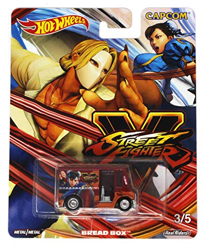 Hot Wheels Street Fighter V 3/5 Vega vs Chun-Li Bread Box Die-cast Vehicle