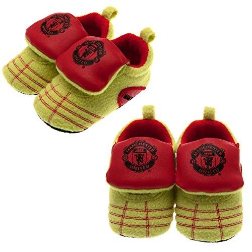 Manchester United Man Utd Neon Baby Stiefel Booties Hausschuhe fußball Stiefel 3/6