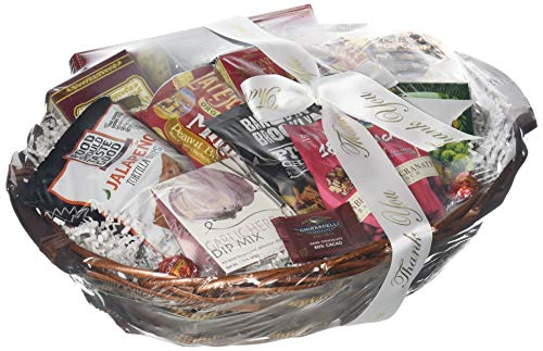 GreatArrivals Snack Attack Thank You Snack Basket, Medium, 4 Pound by GreatArrivals Gift Baskets (Image #2)