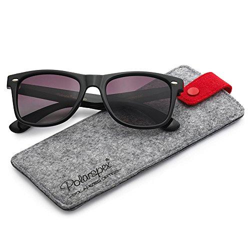 (Polarspex Polarized 80's Retro Classic Trendy Stylish Sunglasses for Men Women)