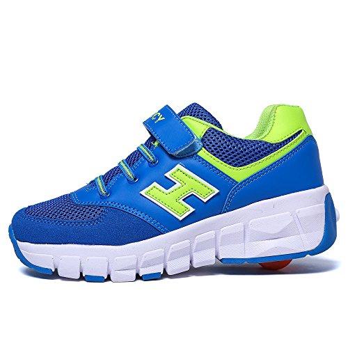 Zapatos Azul Deporte Chicas Chicos Vilocy Kids Sneaker Corriendo Unisexo tq88wvxZ