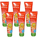 Jason Natural Products Kids Only Strawberry Toothpaste 4.2 oz (Set of 6)