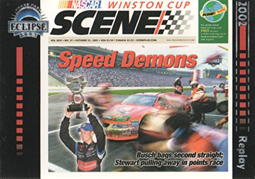 2003 Press Pass Eclipse NASCAR Racing #41 Speed Demons Winston Cup Scene