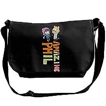 Dan Amazing Phil Men Women Travel Shoulder Handbag Messenger Bags