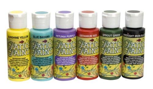 DecoArt DASK276 Patio Paint Sample Pack