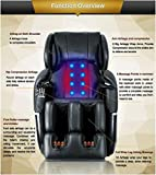 Electric Full Body Shiatsu Massage Chair Foot Roller Zero Gravity w/Heat