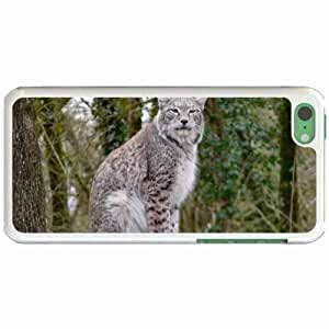 Custom Fashion Design Apple iPhone 5C Back Cover Case Personalized Customized Diy Gifts In Big White