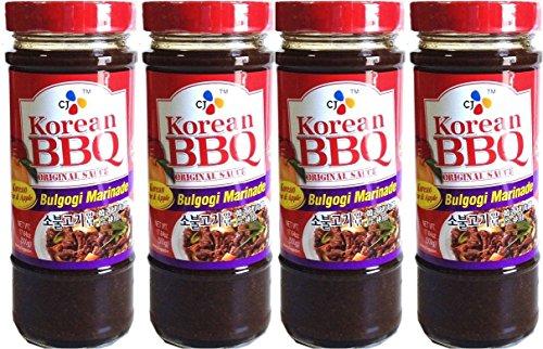 CJ Korean BBQ Sauce Bulgogi Marinade 500g (4 (Bulgogi Marinade)