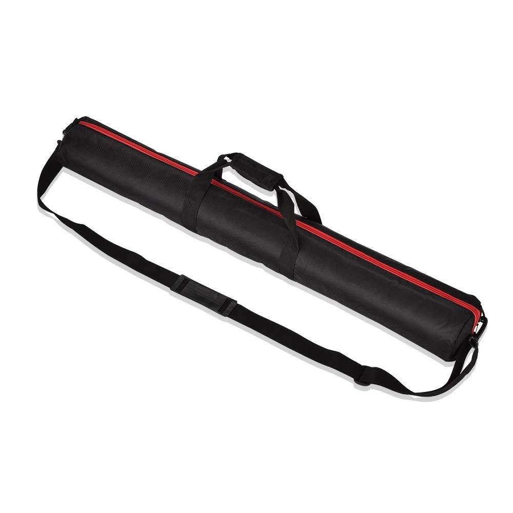 UTEBIT 80cm Bolsa de tr/ípode 1680D Oxford Ajustable Acolchada tr/ípodes con Soporte de luz de Acero Inoxidable con Doble Cierre para Luces y Equipos fotogr/áficos