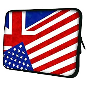 "Flag Pattern 7""/10""/13"" Laptop Sleeve Case for MacBook"