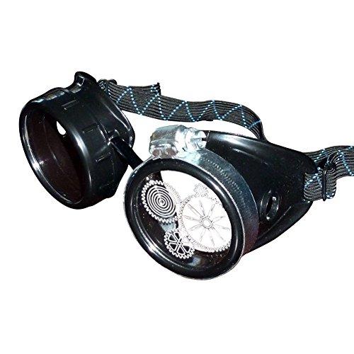 Steampunk Victorian Goggles welding Glasses diesel punk--P02