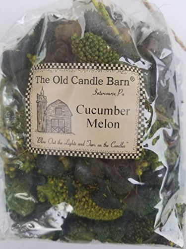 Cucumber Melon Potpourri Large Bag - Can be Used All Year Long - Perfect For Spring and Summer Decoration or Bowl Filler