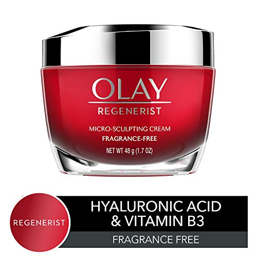 Anti-Aging Face Moisturizer Cream by Olay Regenerist, Micro-Sculpting...