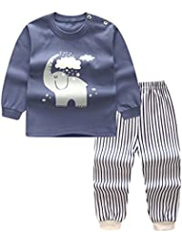 5e5719d160 Bamboo 2 pc Pajama Set - Pink Cloud Air Balloon  stable quality d66c7 a7aa3  Unisex Baby Boys Girls 2-Piece Cotton Pajama Sleepwear Outfits Set ...
