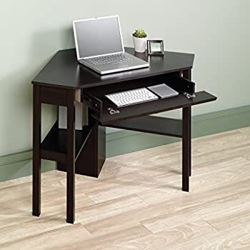Sauder Beginnings Corner Computer Desk, Cherry