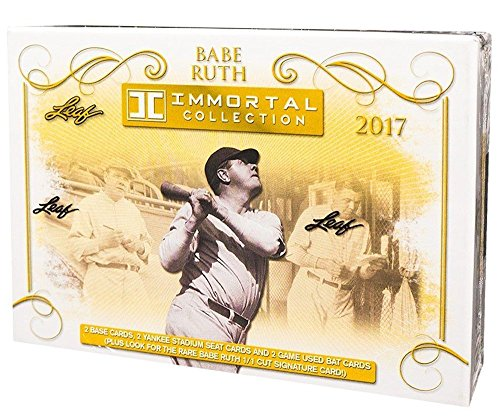 2017 Leaf Babe Ruth Immortal Collection Baseball box (6 c...