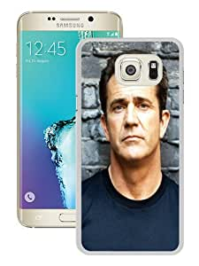 Beautiful Samsung Galaxy S6 Edge Plus Cover Case ,Newest And Durable Designed Case With mel gibson man brunette eyes actor celebrity 27497 White Samsung Galaxy S6 Edge+ Case Unique And Cool Phone Case